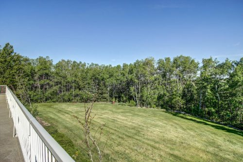 deck-overlooking-lawn-trees-176127-168-Avenue-W-Priddis-Alberta-Calgary-Acreage-Real-estate-for-sale-plintz-luxury-home