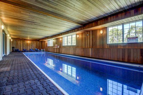 Saltwater indoor swimming pool