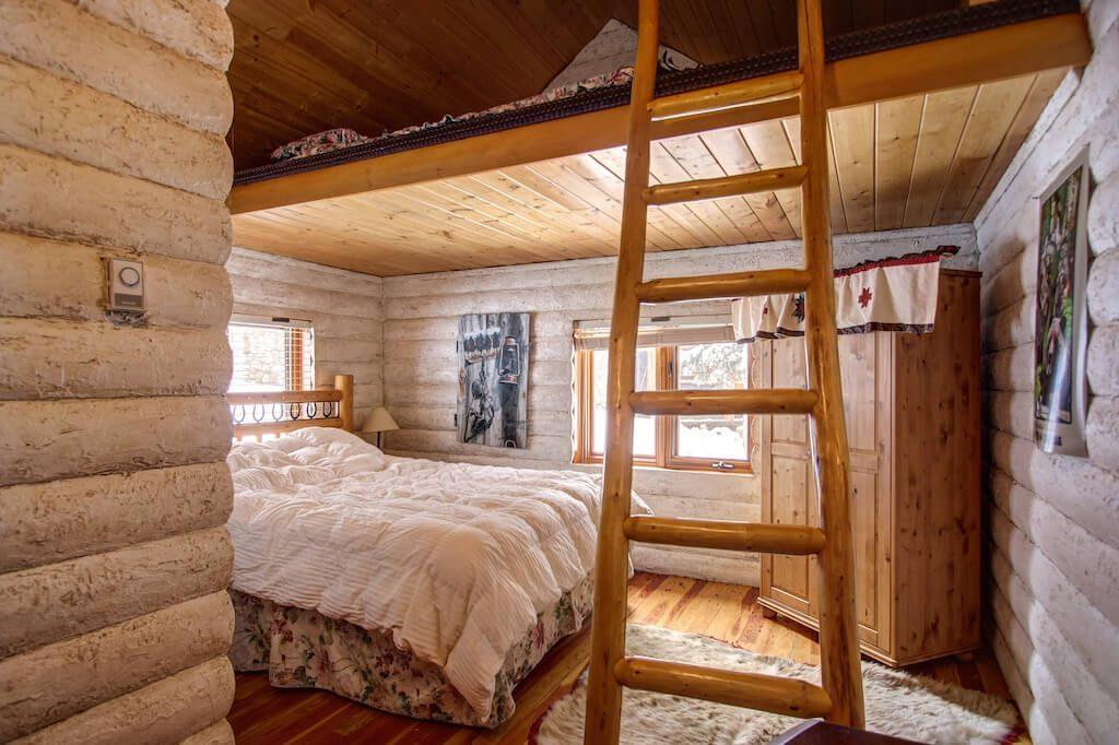 Cabin-loft-bedroom-352248-Pine-Ridge-Road-Bragg-Creek-Ranch-Acreage-For-Sale-Calgary-Real-Estate-For-Sale-taylor-sothebys-Realtor-Plintz