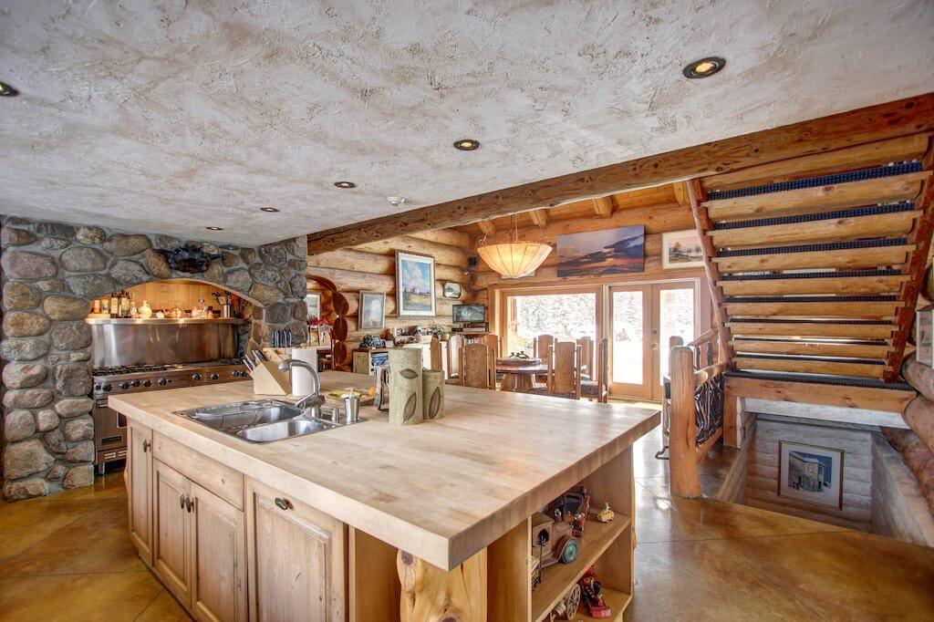 Butcher-block-countertops-352248-Pine-Ridge-Road-Bragg-Creek-Ranch-Acreage-For-Sale-Calgary-Real-Estate-For-Sale-taylor-sothebys-Realtor-Plintz