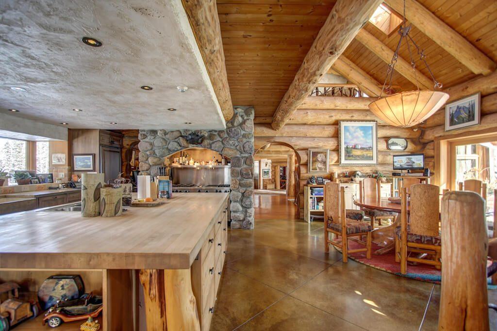 Open-kitchen-dining-352248-Pine-Ridge-Road-Bragg-Creek-Ranch-Acreage-For-Sale-Calgary-Real-Estate-For-Sale-taylor-sothebys-Realtor-Plintz