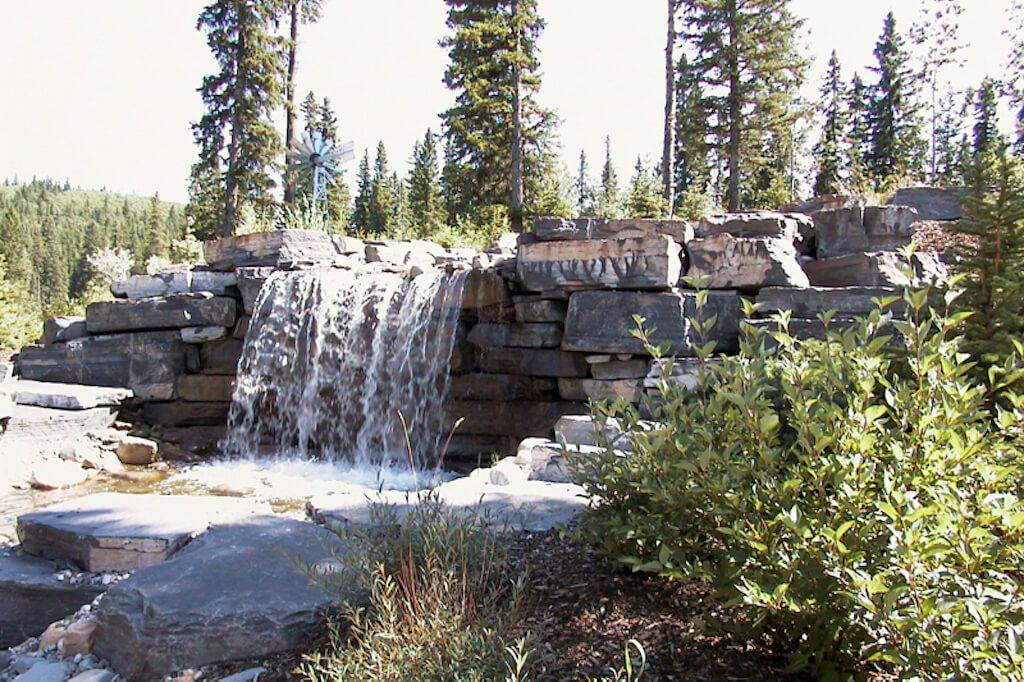 Rock-waterfall-352248-Pine-Ridge-Road-Bragg-Creek-Ranch-Acreage-For-Sale-Calgary-Real-Estate-For-Sale-taylor-sothebys-pond