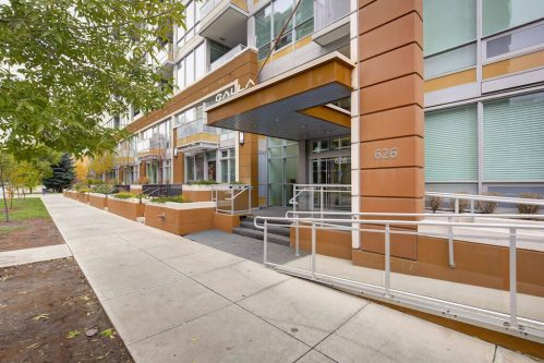 Entrance-Calla-Condo-High-rise-calgary-beltline-downtown-for-sale