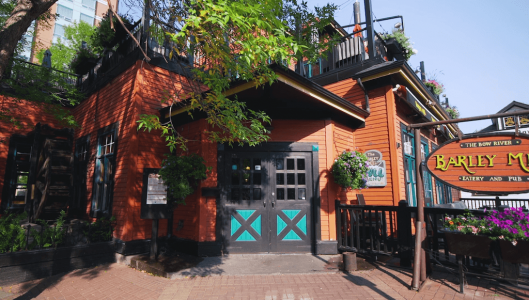 Barley-mill-restaurant-Eau-Claire-Calgary-Plintz-Real-Estate-Bow-River-Condos-Riverfront