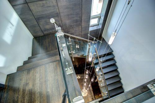 staircase-wood-chandelier-modern-2605-Erlton-Street-SW-Calgary-Real-Estate-Homes-For-Sale-Realtor-Plintz-Luxury-Custom