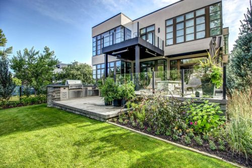 backyard-landscaping-garden-summer-window-architecture-2605-Erlton-Street-SW-Calgary-Real-Estate-Homes-For-Sale-Realtor-Plintz-Luxury-Custom