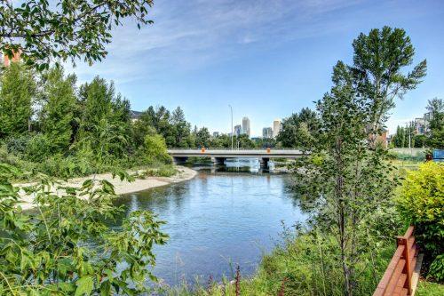 elbow-river-city-view-bridge-2605-Erlton-Street-SW-Calgary-Real-Estate-Homes-For-Sale-Realtor-Plintz-Luxury-Custom