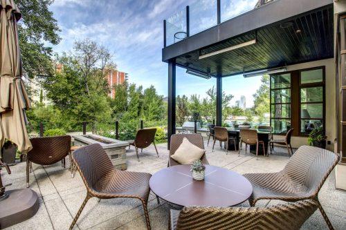 backyard-terrace-fire-feature-elbow-river-views-2605-Erlton-Street-SW-Calgary-Real-Estate-Homes-For-Sale-Realtor-Plintz-Luxury-Custom