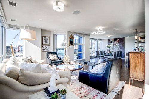 open-concept-loft-penthouse-luxury-downtown-13-Avenue-SW-park-calgary-beltline-condo-real-estate-for-sale-plintz