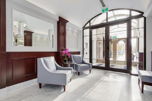 building-entrance-foyer-lobby-1230-720-13-Avenue-SW-Estate-Condo-Executive-Beltline-Connaught-Plintz-Real-Estate-For-Sale