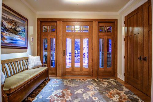 Custom-entry-door-3015-5-Street-SW-Rideau-Calgary-Homes-For-Sale-Plintz-Real-Estate