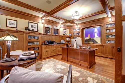 Den-custom-built-ins-office-3015-5-Street-SW-Rideau-Calgary-Homes-For-Sale-Plintz-Real-Estate