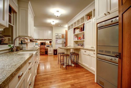 Butler kitchen in Calgary luxury home in Rideau Park for sale by Plintz Real Estate.