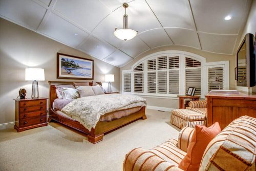 Master-bedroom-barrel-ceilings-3015-5-Street-SW-Rideau-Calgary-Homes-For-Sale-Plintz-Real-Estate