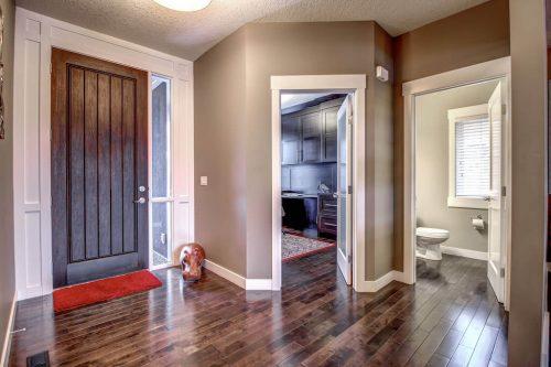 hardwood-entrance-14-Aspen-Dale-Court-SW-Home-For-Sale-Plintz-Real-Estate-Calgary-Woods-Luxury-Alberta-Realtor