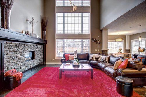 great-room-fireplace-14-Aspen-Dale-Court-SW-Home-For-Sale-Plintz-Real-Estate-Calgary-Woods-Luxury-Alberta-Realtor