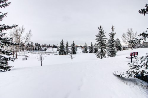 view-snow-winter-Valour-Circle-SW-Park-Empire-Custom-Homes-Townhome-Luxury-Plintz-Real-Estate-For-Sale-Calgary-currie-barracks