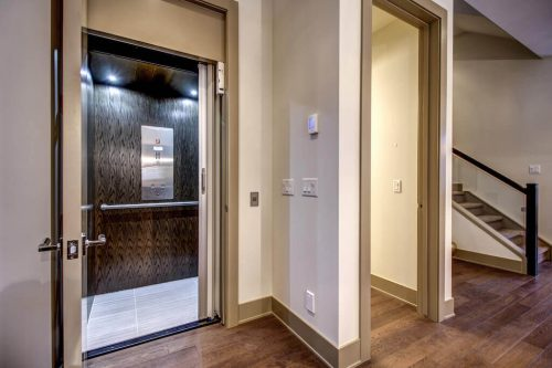 elevator-Valour-Circle-SW-Park-Empire-Custom-Homes-Townhome-Luxury-Plintz-Real-Estate-For-Sale-Calgary-currie-barracks