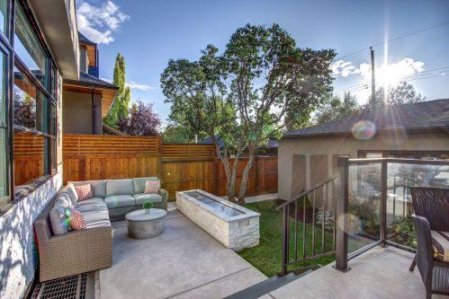 Backyard-3819-12-Street-SW-Elbow-Park-Luxury-Real-Estate-Home-For-Sale-Calgary-Plintz-Realtor