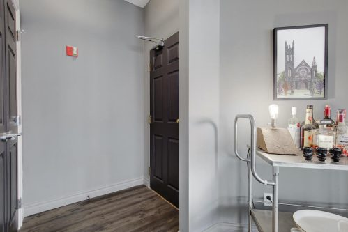 condo-entrance-luxury-barcart-503-820-15-Avenue-SW-Calgary-Condo-Newbury-Beltline-Mount-Royal-Penthouse-For-Sale-Plintz-Real-Estate