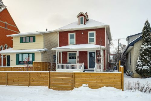 Cute red character home in Inglewood Calgary Real Estate