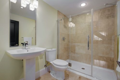 bathroom-tile-shower-3119-Kilkenny-Drive-SW-Killarney-Calgary-Real-Estate-Homes-For-Sale-Plintz-Realtor-Dennis