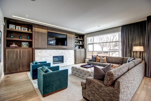 living-room-fireplace-3819-12-Street-SW-Elbow-Park-Luxury-Real-Estate-Home-For-Sale-Calgary-Plintz-Realtor