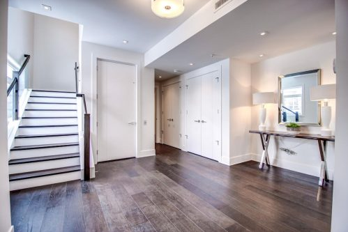 Staircase-Elevator-8-Victoria-Cross-Boulevard-SW-Empire-Custom-Homes-Townhouse-For-Sale-Plintz-Real-Estate-Calgary-Currie-Barracks-Realtor-Dennis