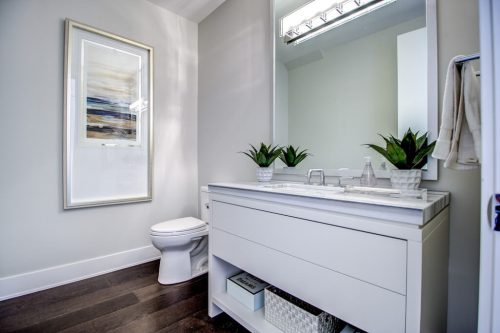 Powder-room-8-Victoria-Cross-Boulevard-SW-Empire-Custom-Homes-Townhouse-For-Sale-Plintz-Real-Estate-Calgary-Currie-Barracks-Realtor-Dennis