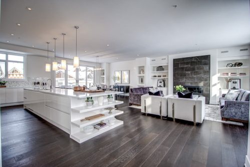 Luxury-Open-Kitchen-White-8-Victoria-Cross-Boulevard-SW-Empire-Custom-Homes-Townhouse-For-Sale-Plintz-Real-Estate-Calgary-Currie-Barracks-Realtor-Dennis