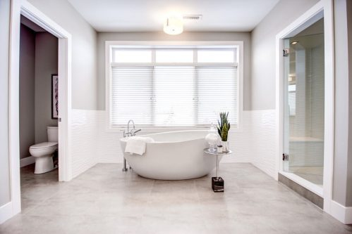 Gorgeous-Spa-standalone-soaker-tub-8-Victoria-Cross-Boulevard-SW-Empire-Custom-Homes-Townhouse-For-Sale-Plintz-Real-Estate-Calgary-Currie-Barracks-Realtor-Dennis