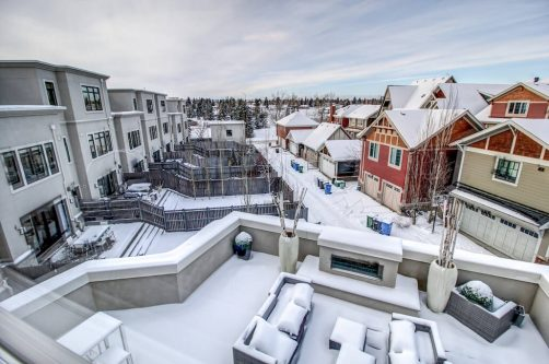 View-rooftop-patio-8-Victoria-Cross-Boulevard-SW-Empire-Custom-Homes-Townhouse-For-Sale-Plintz-Real-Estate-Calgary-Currie-Barracks-Realtor-Dennis