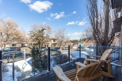 front-porch-glass-rail-andronack-chair-47-28-Avenue-SW-Erlton-Calgary-Home-For-Sale-Plintz-Real-Estate-House-realtor-realty