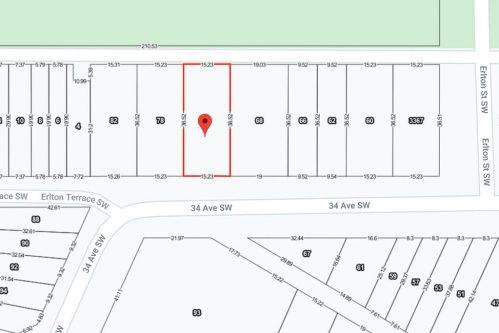 Developer-lot-investor-builder-townhomes-74-34-Avenue-SW-Erlton-Calgary-Real-Estate-For-Sale-Lot-Plintz-Realty-Realtor