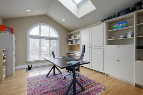skylight-office-builtins-vaulted-ceilings-818-Rideau-Road-SW-Calgary-Real-Estate-For-Sale-Luxury-Home-Plintz-Realtor-Realty
