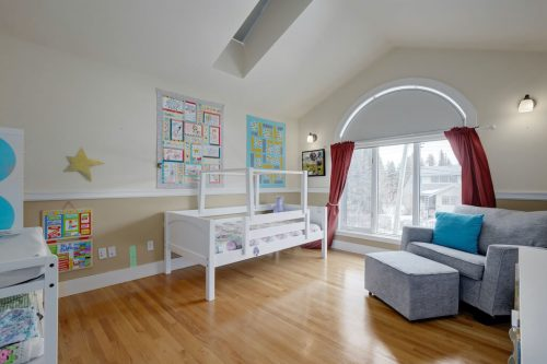 vaulted-ceiling-skylight-bedroom-nursery-818-Rideau-Road-SW-Calgary-Real-Estate-For-Sale-Luxury-Home-Plintz-Realtor-Realty
