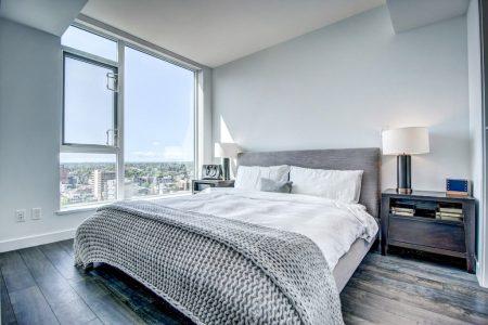 Bedroom-City-view-Park-Point-Calgary-Beltline-Condo-310-12-Avenue-SW-Luxury-Plintz-Real-Estate