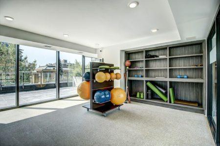 Yoga-Studio-Gym-Amenities-Park-Point-Calgary-Beltline-Condo-310-12-Avenue-SW-Luxury-Plintz-Real-Estate