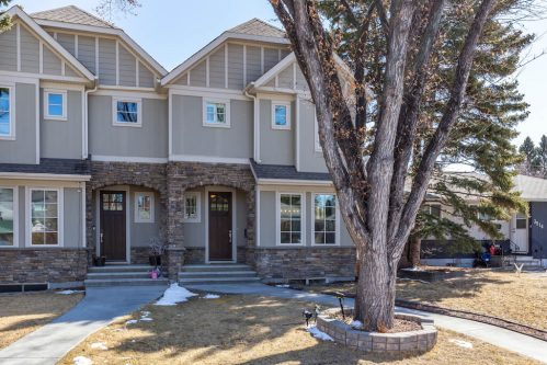 landscaping-house-3514-42-Street-SW-Glenbrook-Calgary-Home-Real-Estate-for-sale-infill-attached-Plintz