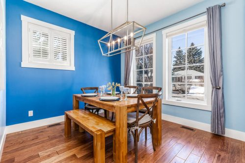 dining-windows-blue-accent-walls-3514-42-Street-SW-Glenbrook-Calgary-Home-Real-Estate-for-sale-infill-attached-Plintz