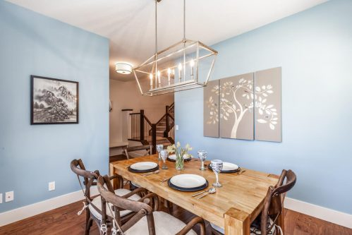 dining-room-blue-pendant-lighting-3514-42-Street-SW-Glenbrook-Calgary-Home-Real-Estate-for-sale-infill-attached-Plintz