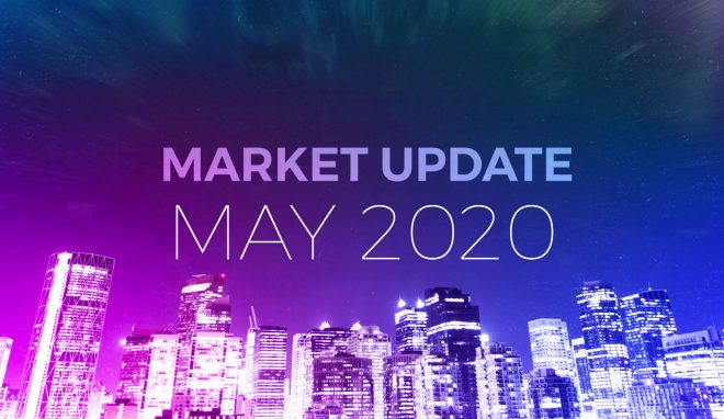 Calgary real estate market update and statistics for May 2020.