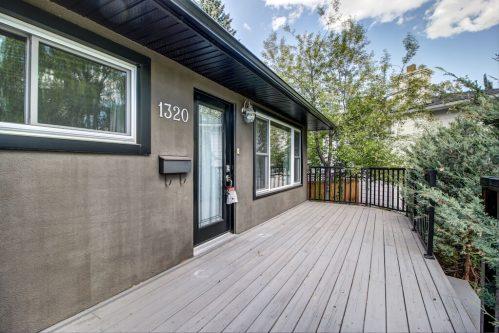 1320 87 Avenue SW with front porch in Haysboro Calgary