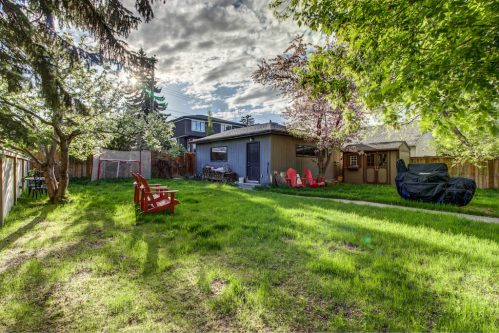 detached-garage-winter-landscaping-3119-Kilkenny-Drive-SW-Killarney-Calgary-Real-Estate-Homes-For-Sale-Plintz-Realtor-Dennis