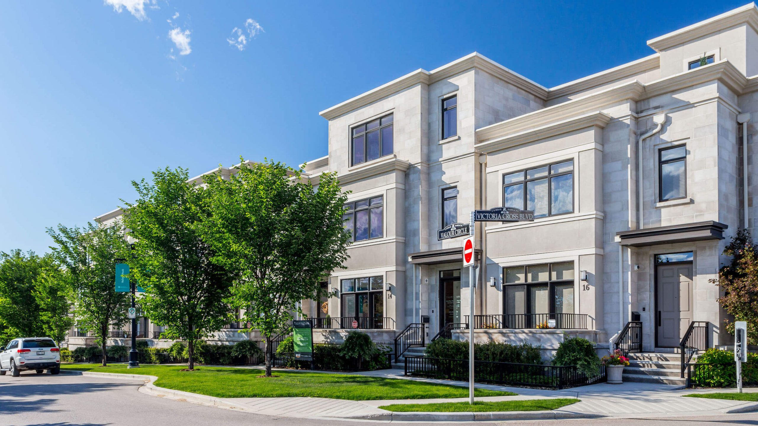 14 Valour Circle Luxury Townhome on Tree-lined street in Calgary Alberta