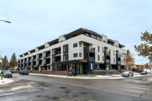 New modern architecture condo for sale in Marda Loop Calgary.