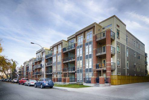 Tribeca condo building located at 323 20 Avenue SW in Mission community in Calgary Alberta.