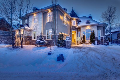 Showhome luxury house in Willows of Wentworth Calgary for sale by Plintz Real Estate