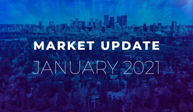 January 2021 Calgary Real Estate Market Stats