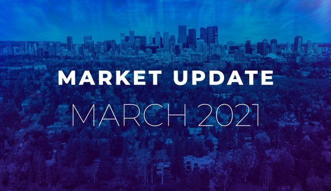 March 2021 Real Estate Market Update Calgary
